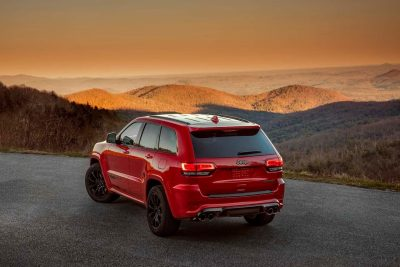 2018 Jeep Grand Cherokee Trackhawk at sunset