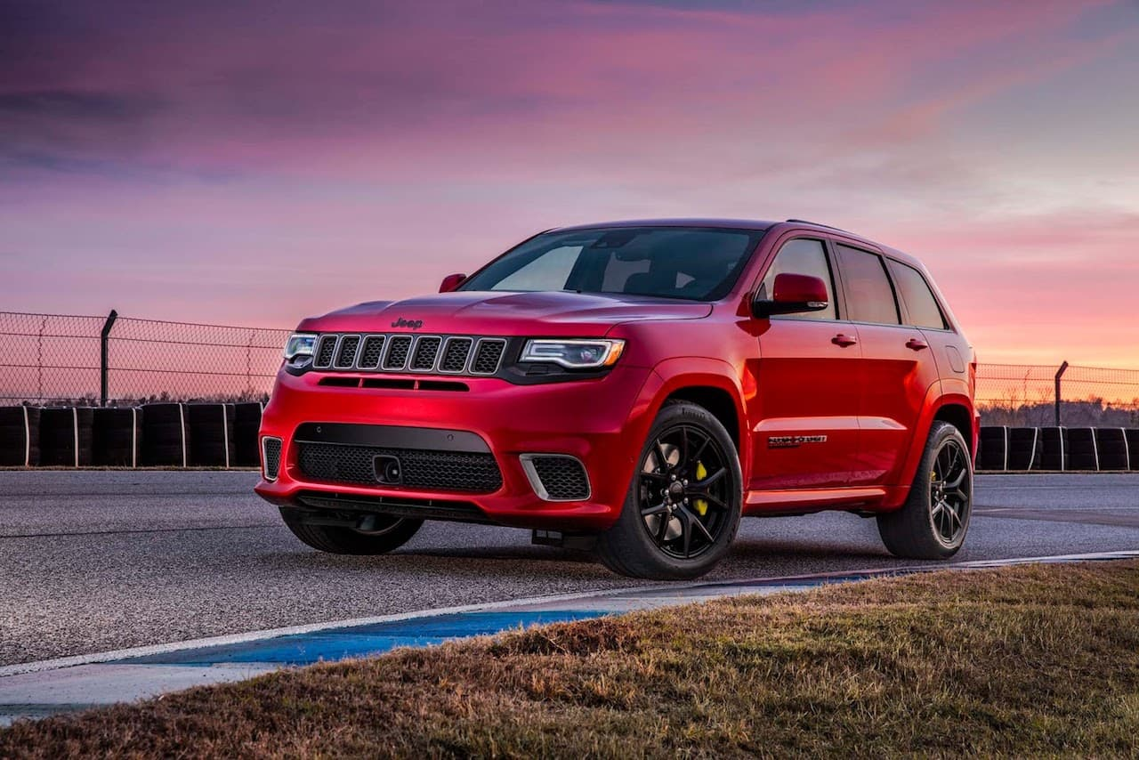 2018 Trackhawk Jeep Grand Cherokee wheels