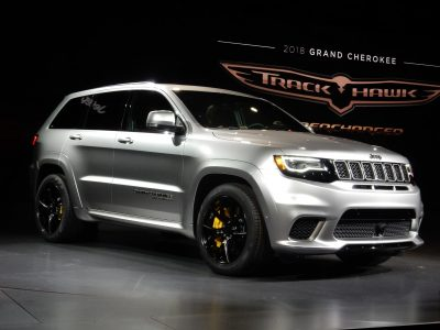 2018 Grey Jeep Grand Cherokee Trackhawk background