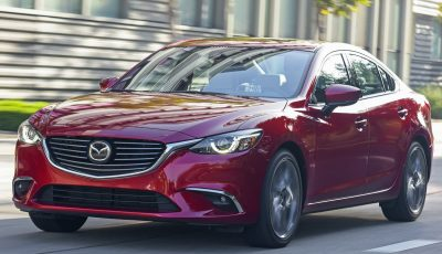 Mazda 6 2017 Sedan Red in HD