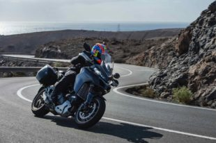 2018 Ducati Multistrada 1260 S on the road