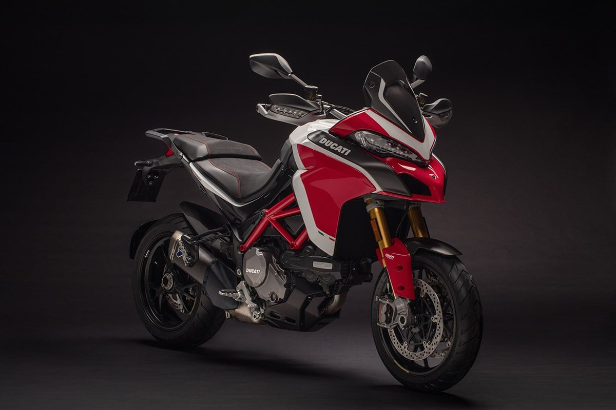 2018 red Ducati Multistrada 1260
