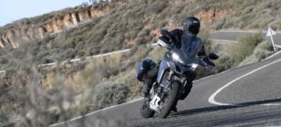 a man on the 2018 Ducati Multistrada 1260 S