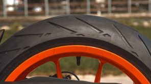 2017 KTM RC390 R rear wheel