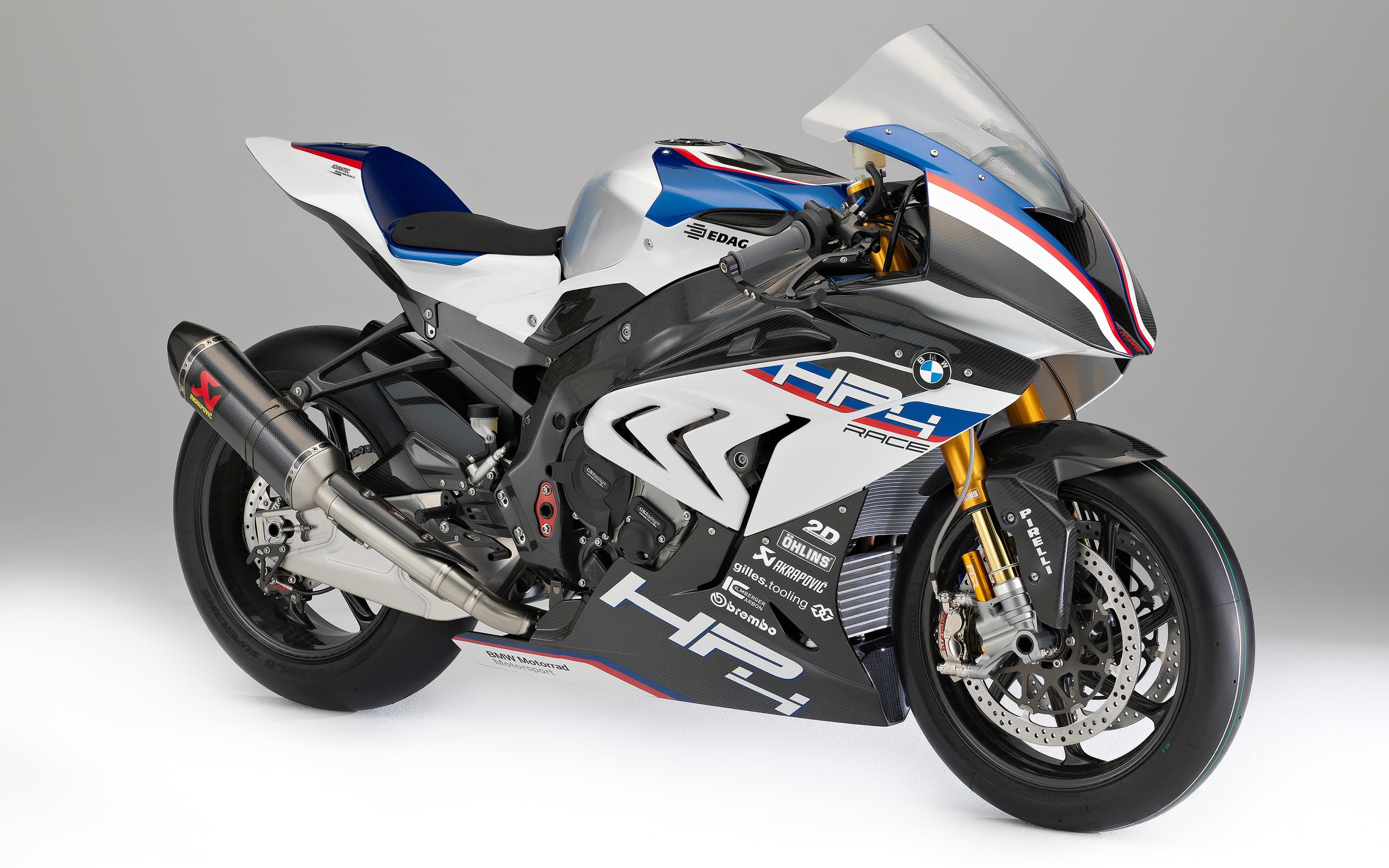 picture of BMW HP4 race 2018