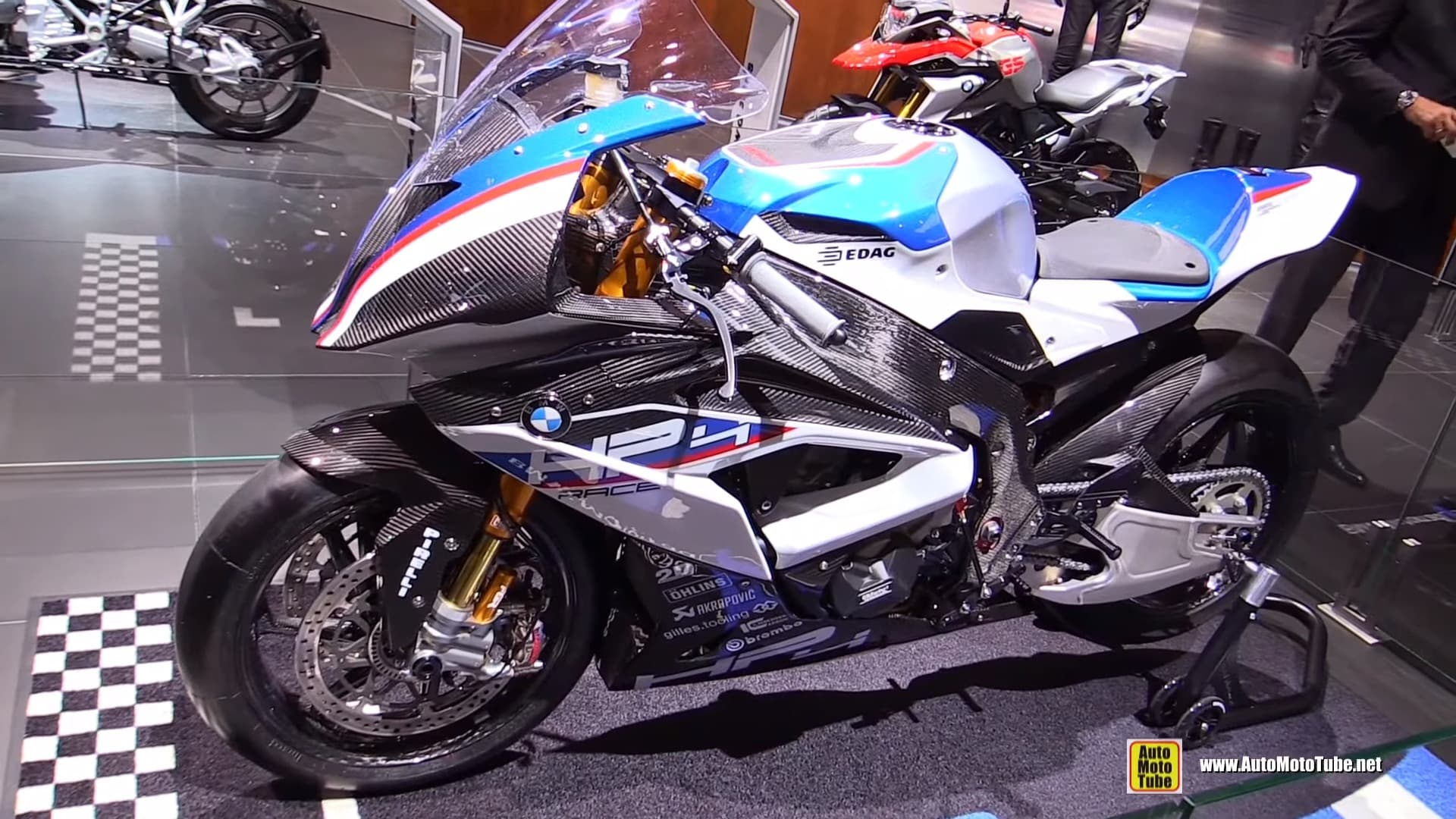 2018 BMW HP4 race side view