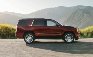 GMC yukon denali - side view