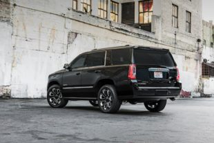 GMC yukon denali back view