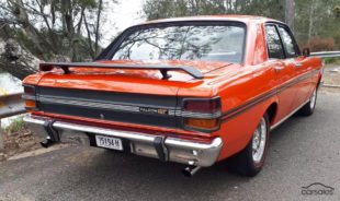 Ford Falcon GT XY red bumper