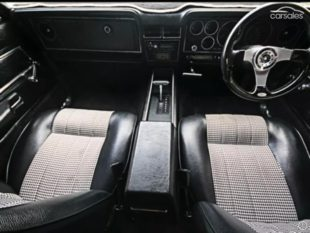 Ford Falcon 500 XC interior