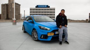 Ford Focus RS with owner