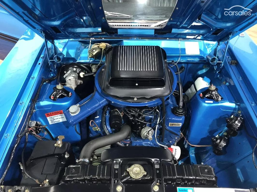 1970 Ford Falcon GT XY engine