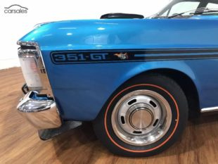 1970 Ford Falcon GT XY wheel