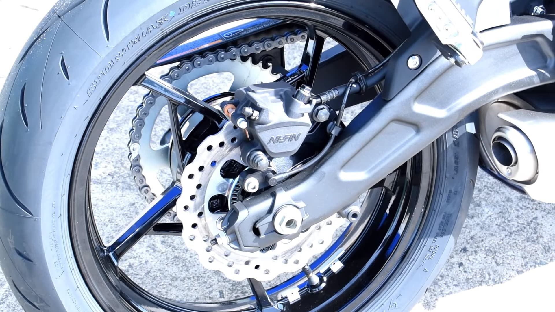 2018 Kawasaki ninja 650 rear wheel