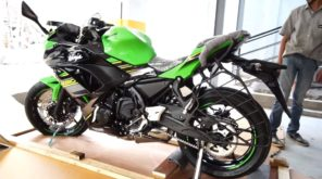 2018 Kawasaki ninja 650 side view