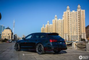 new Audi RS 6 Avant Performance under sky