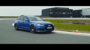 Audi RS 6 Avant Performance background