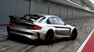 BMW Vision GT Widebody back view