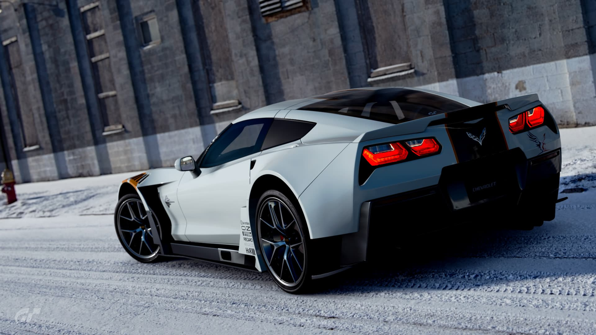Chevrolet Corvette Gr.3 back lights