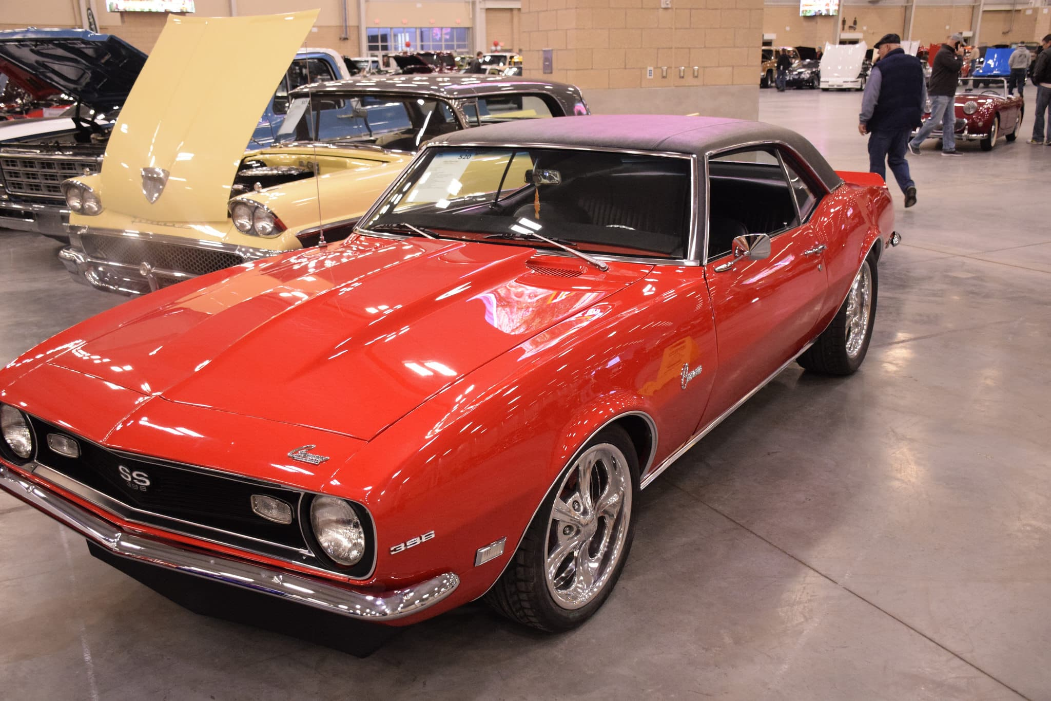 Red Chevrolet Camaro 396 SS