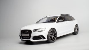 white Audi RS 6 Avant Performance