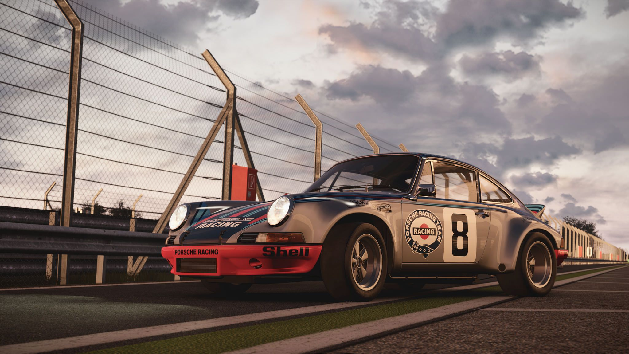 Porsche Carrera RSR Racing car