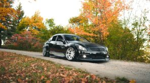 Infiniti G37 in Autumn