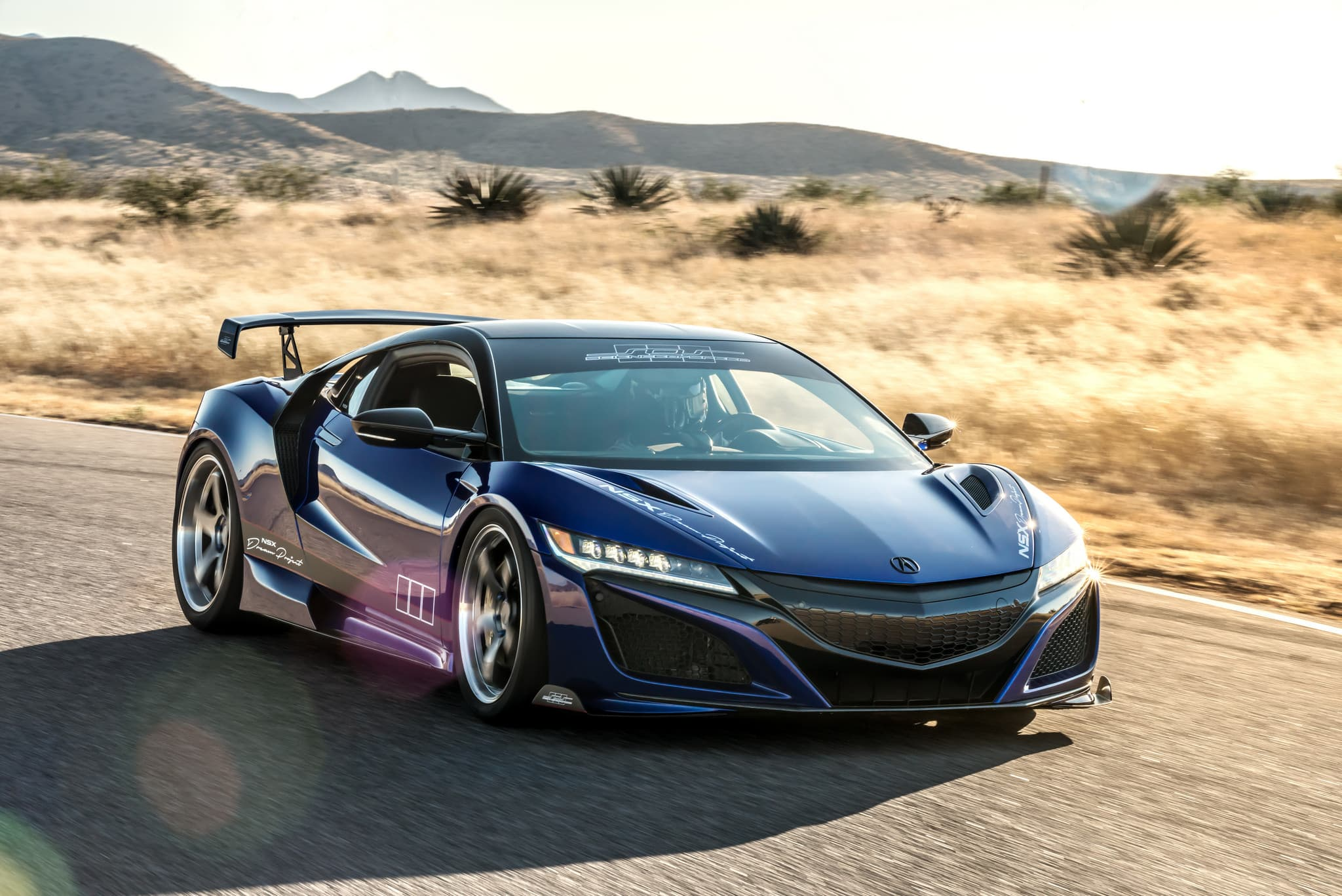 2017 Acura NSX background