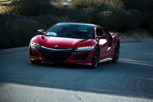 2017 red Acura NSX widescreen