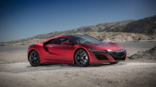2017 red Acura NSX HD wallpapers