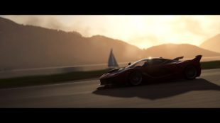 2017 Ferrari FXX K at sunrise