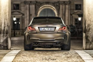 BMW 1M Coupe rear bumper