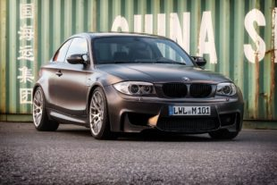 lowered BMW 1M Coupe