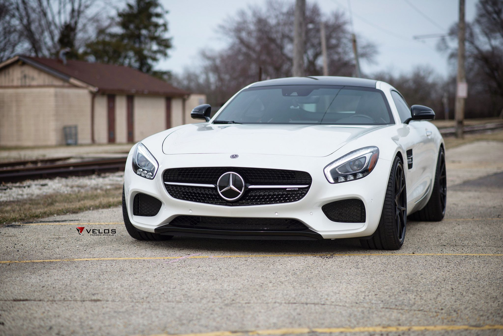 Mercedes AMG GTS White Perfection