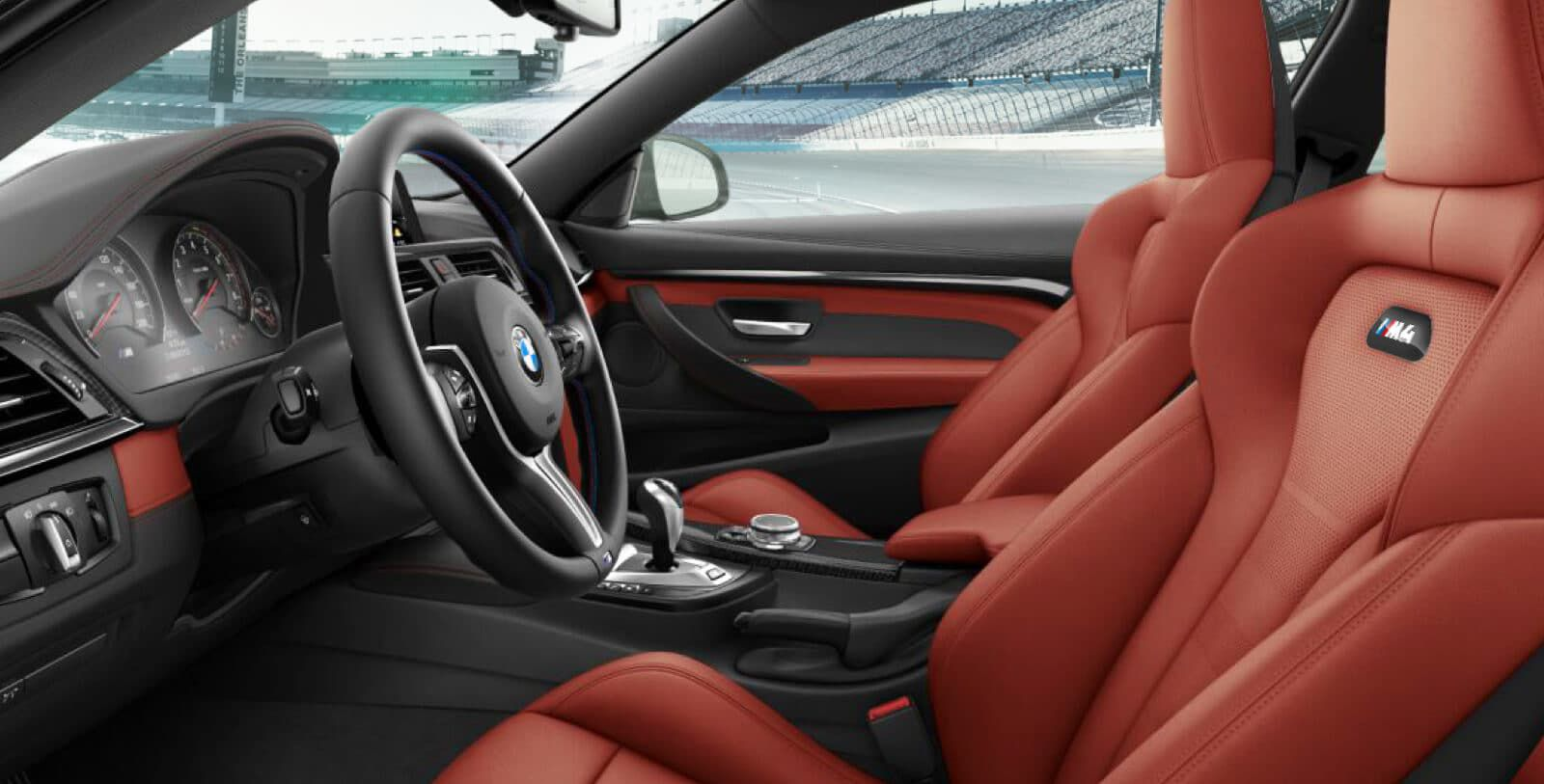 Red Interior Bmw M4 Hd Image 9 On Wallpapersqq