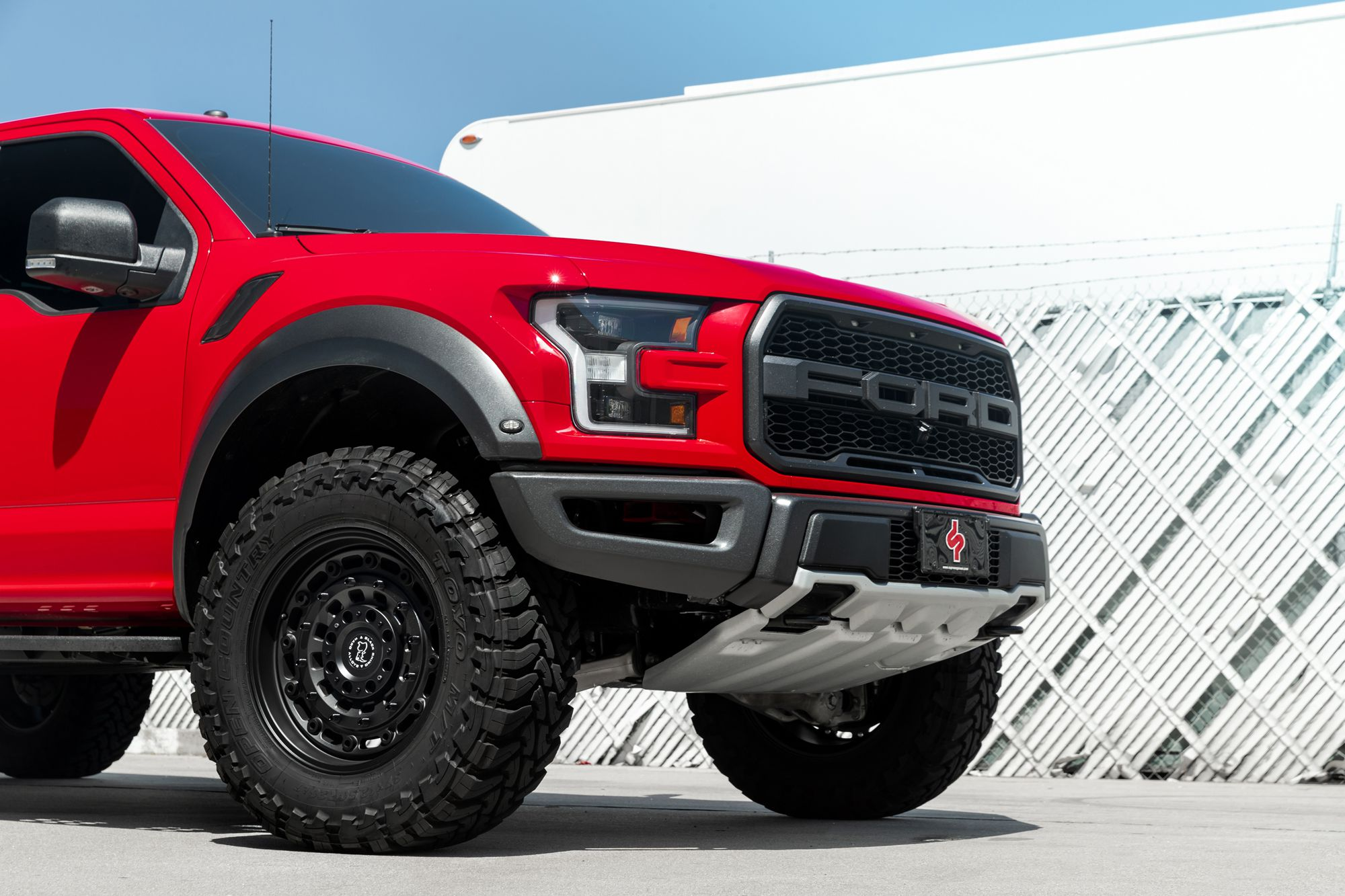 Ford F150 Wheels >> Ford F-150 Raptor on (Supreme Power) Black Rhino Arsenal wheels