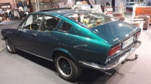 1971 Audi 100 Coupe S side view