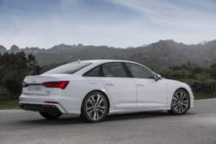 2019 Audi A6 side view