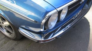 Audi 100 GL headlights