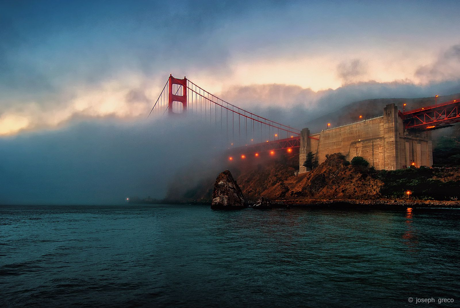 Fort Baker and Golden Gate Bridge