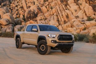 Toyota Tacoma front bamper