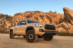 Toyota Tacoma on Black Rhino Arsenal wheels