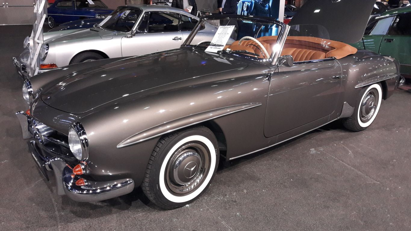 1957-1959 Mercedes-Benz 190SL