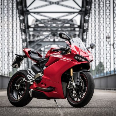 red Ducati Panigale 1299s