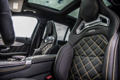 004 interior of Mercedes Benz AMG 2018 GLC63
