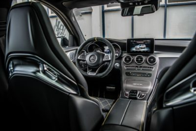007 interior of Mercedes Benz AMG 2018 GLC63