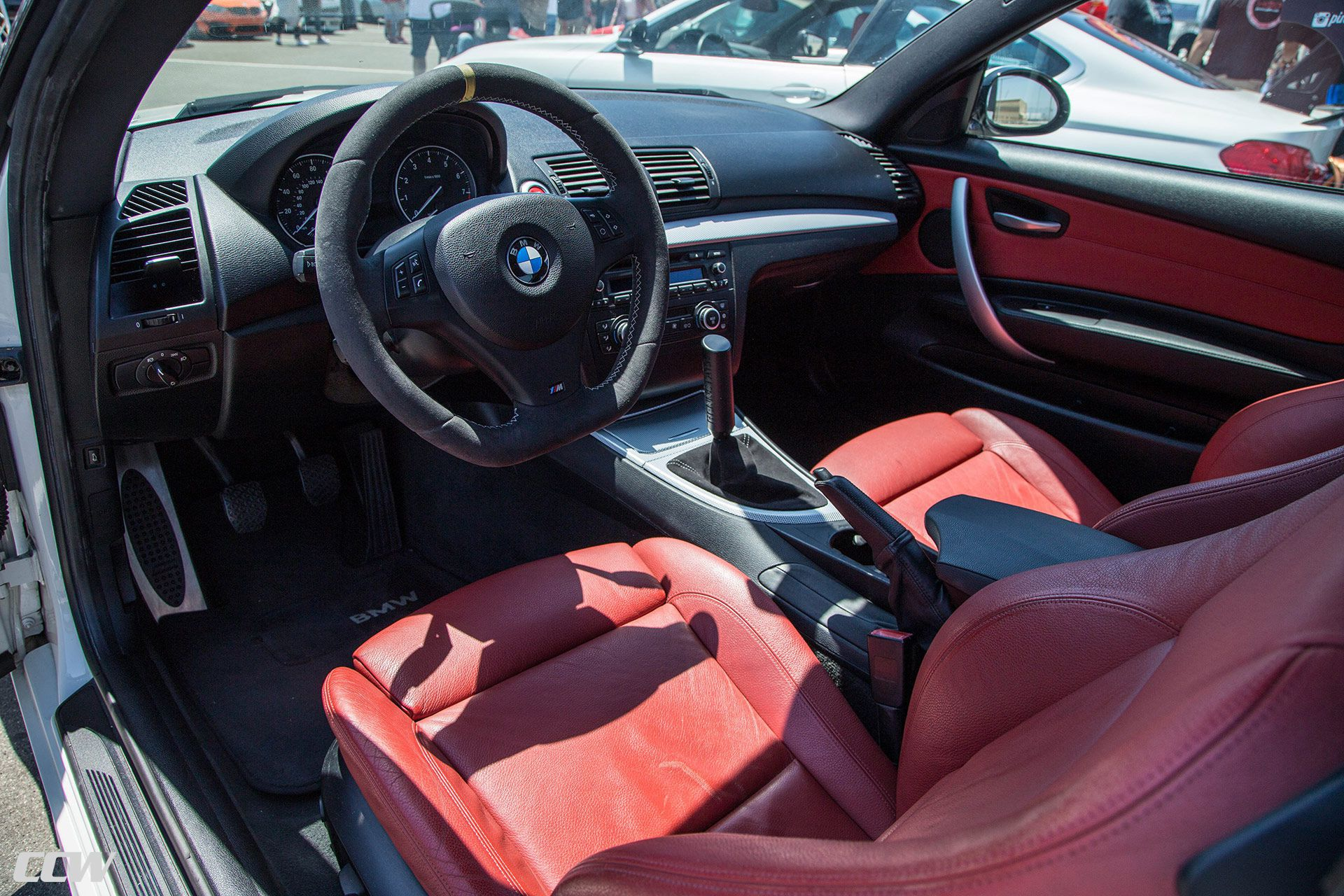 STEERING WHEEL OF BMW M3 E92 interior