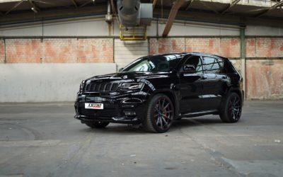 black GME Jeep Grand Cherokee