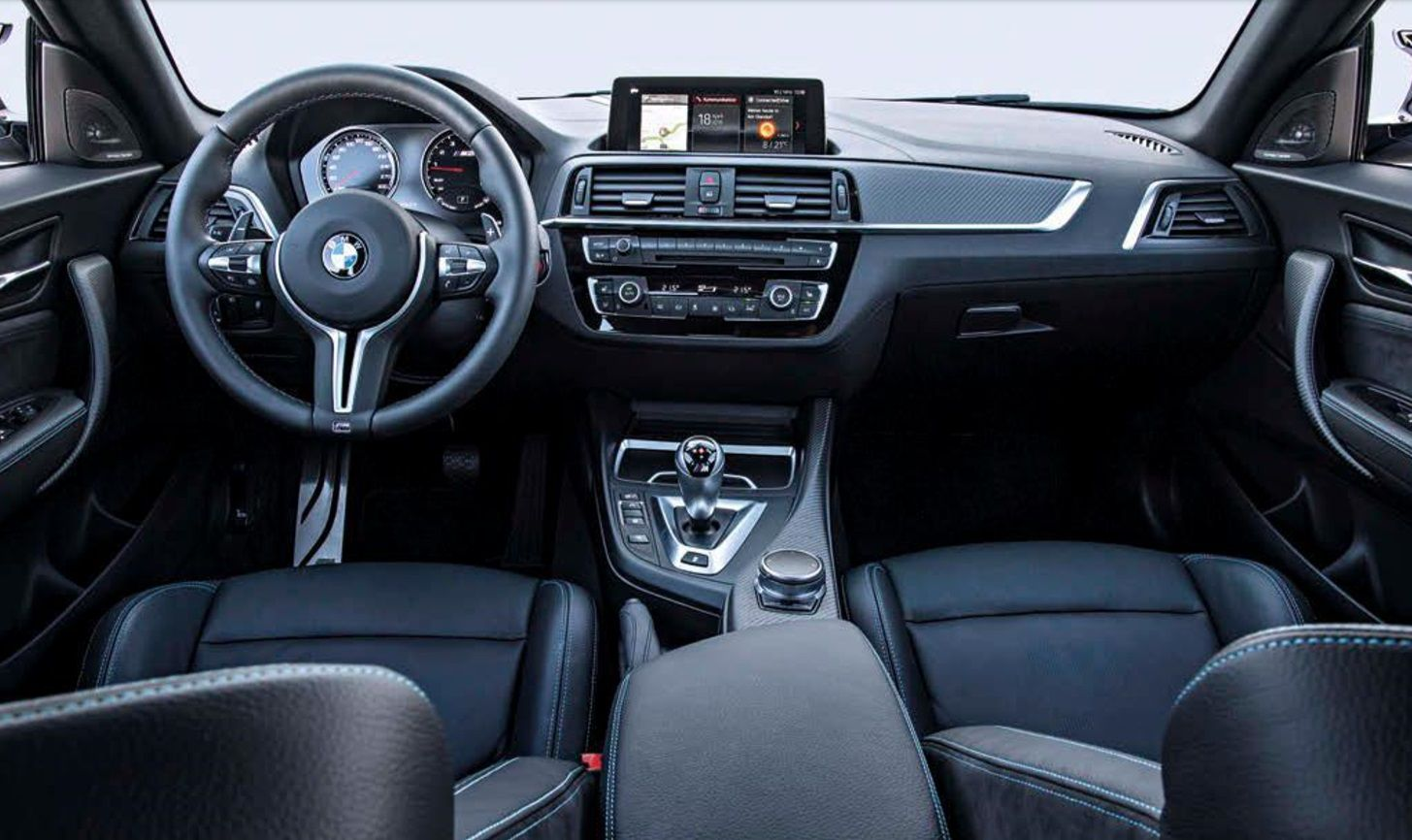 2018 BMW M2 Competition interior