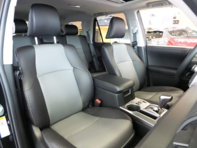 2018 Toyota 4Runner front seat